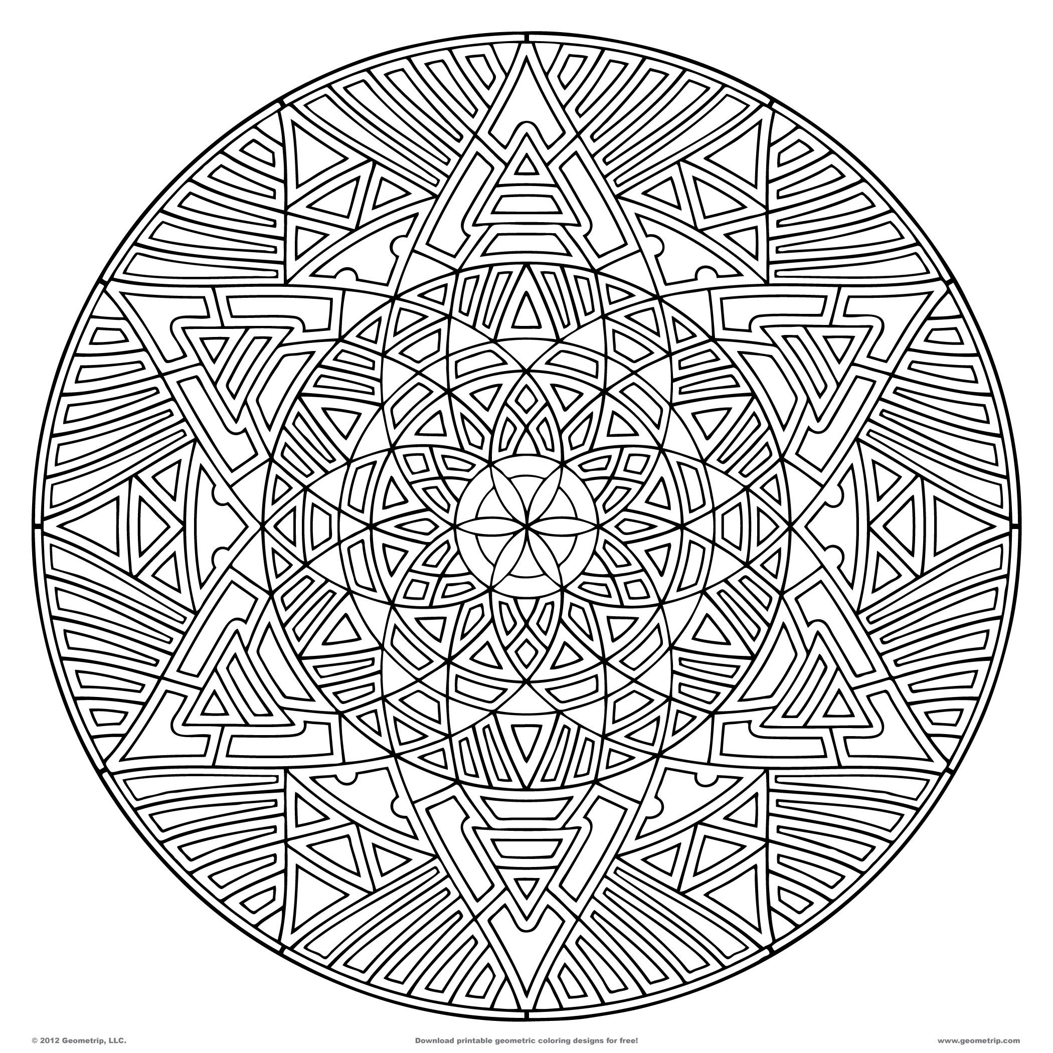 Pin By Kelly Cormier On Projects To Try   Geometric Coloring