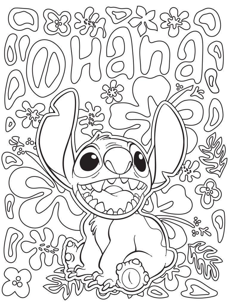 Celebrate National Coloring Book Day With   Disney Love
