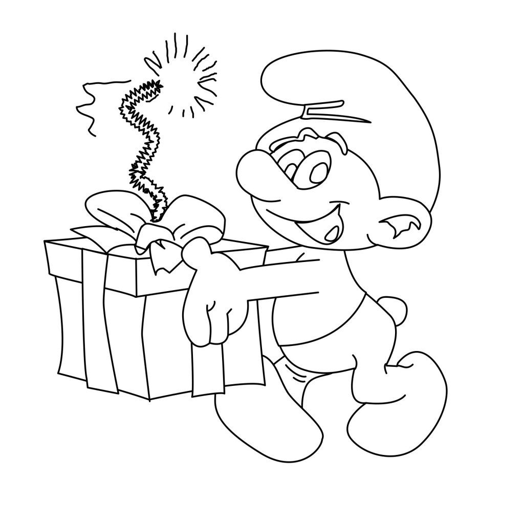 Free Printable Smurf Coloring Pages For Kids | Coloring