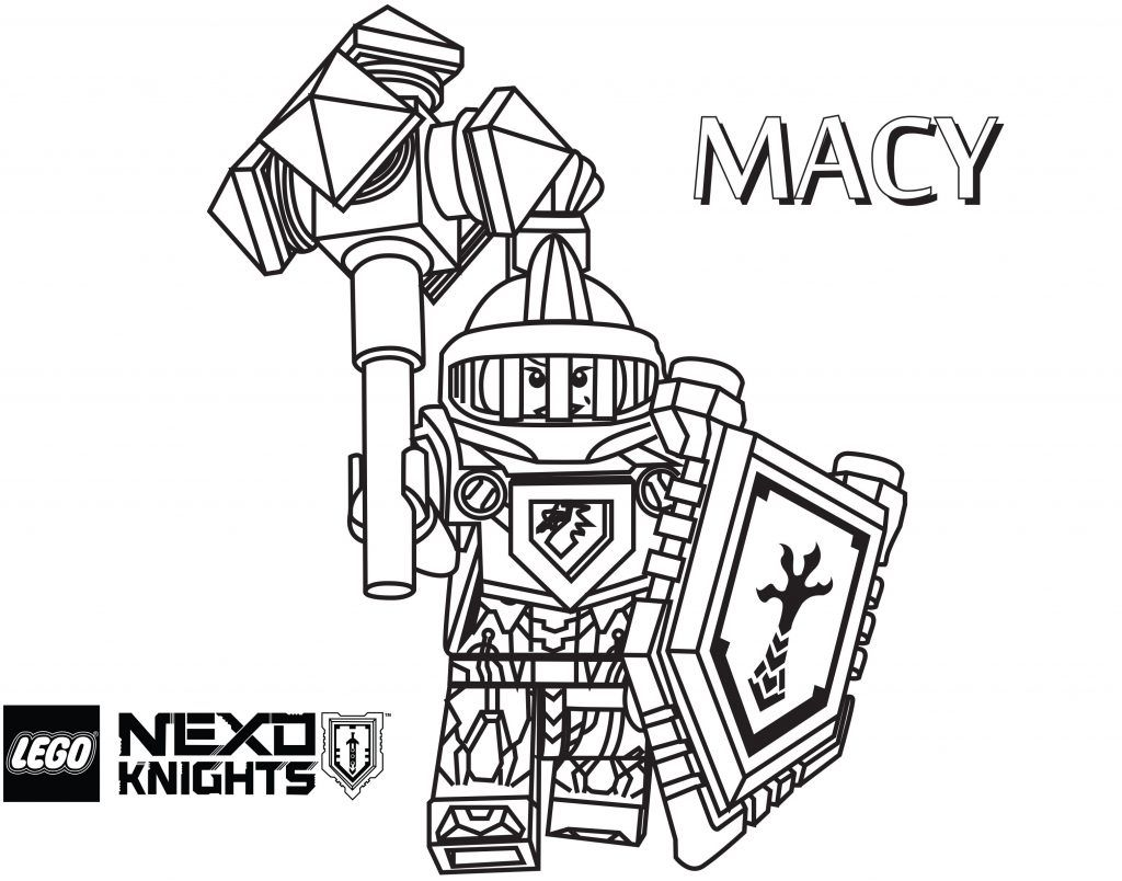 Coloring Pages ~ Nexo Knights Printable Coloring Pages Axl S