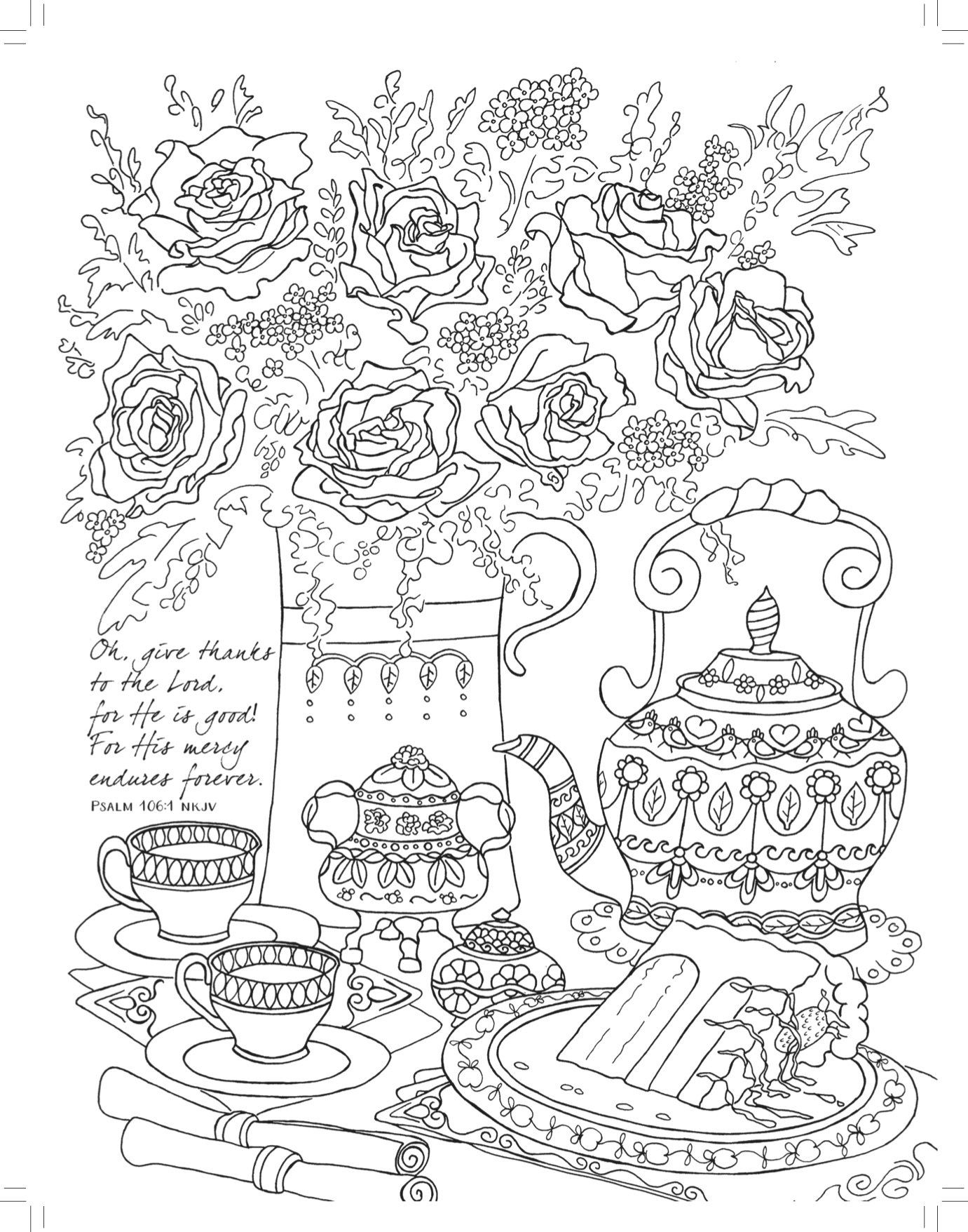 Tea For Two: Coloring Friendship (majestic