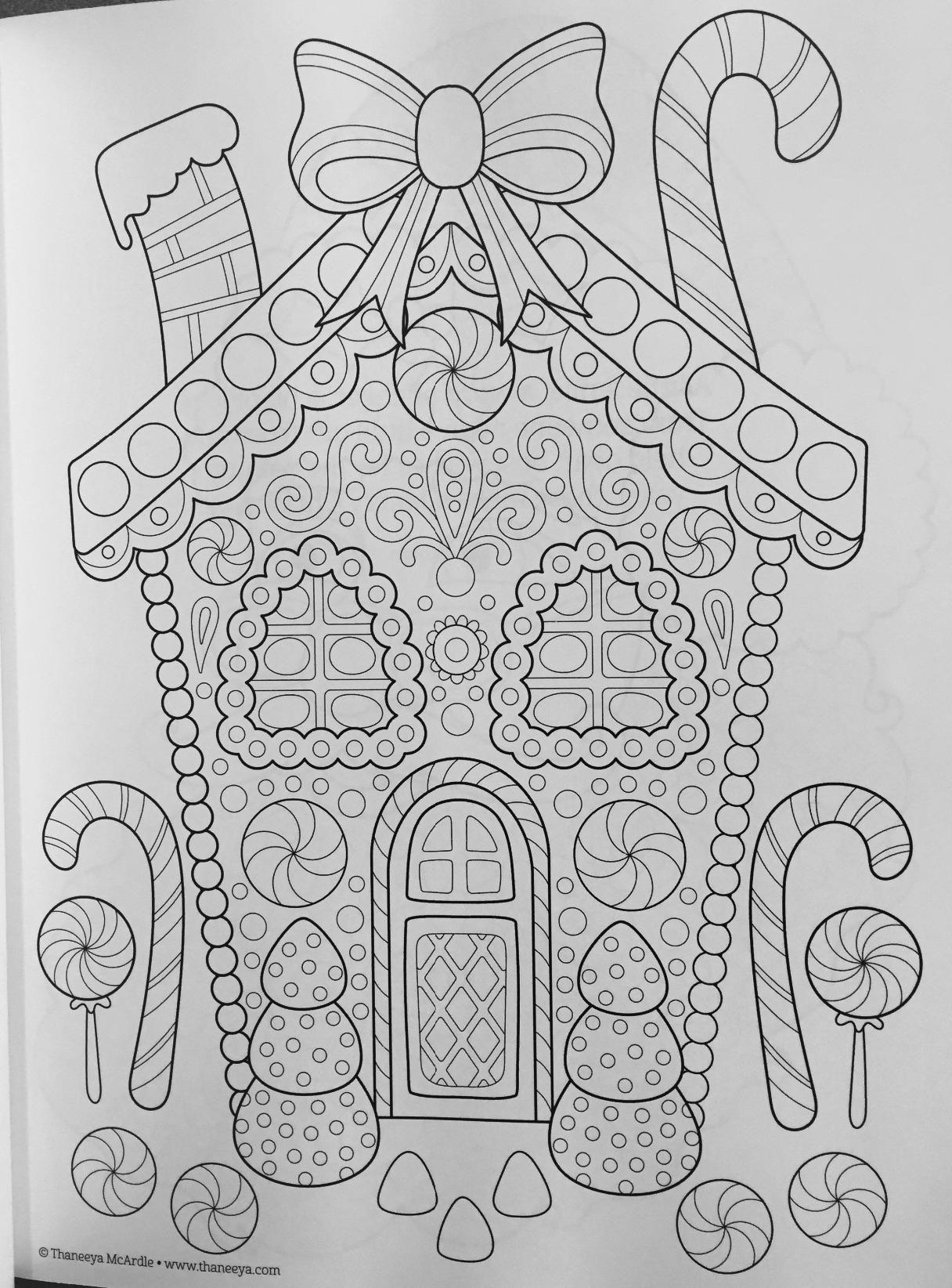Christmas Coloring Book (coloring Is Fun): Thaneeya Mcardle
