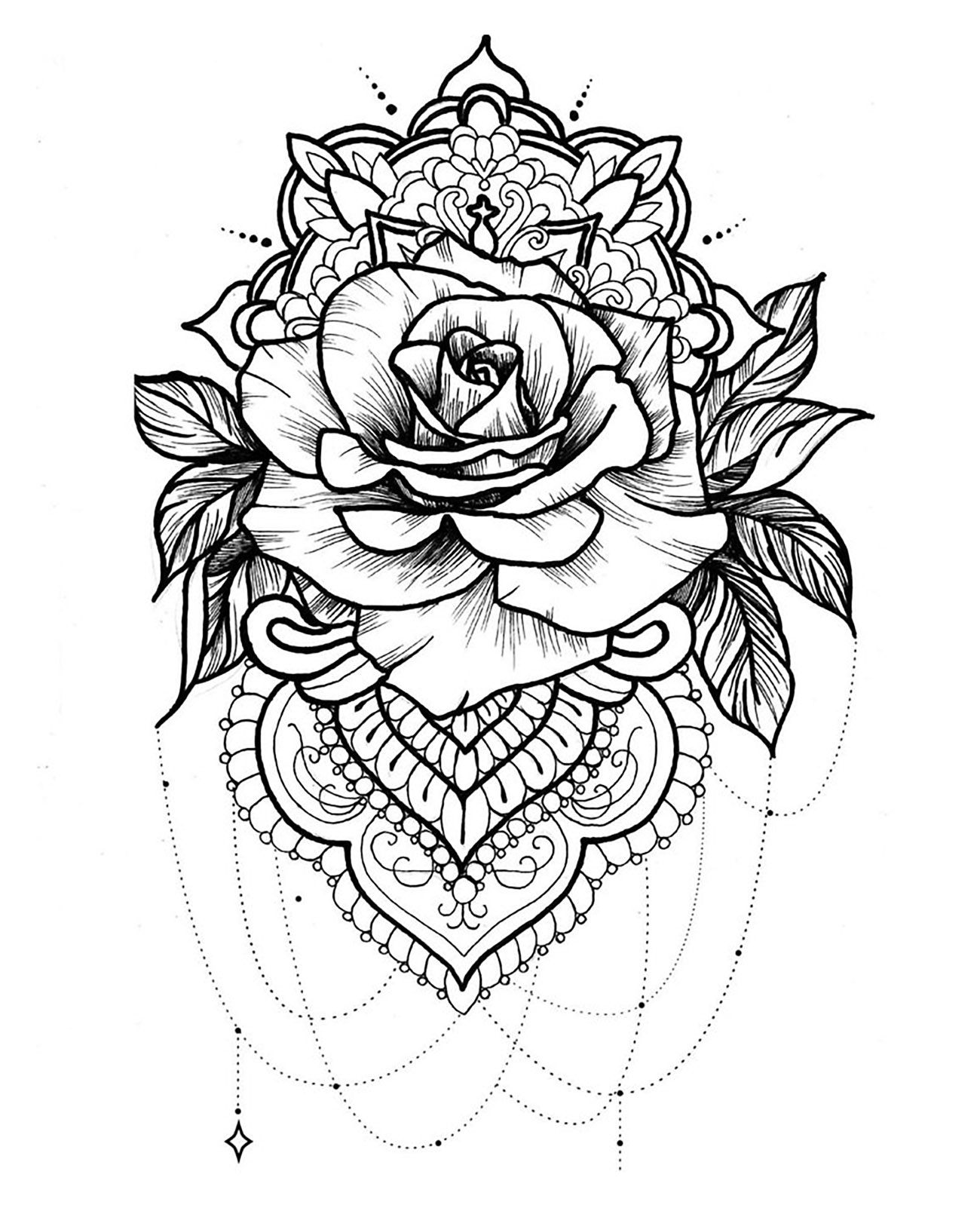 Here Are Difficult Mandalas Coloring Pages For Adults To