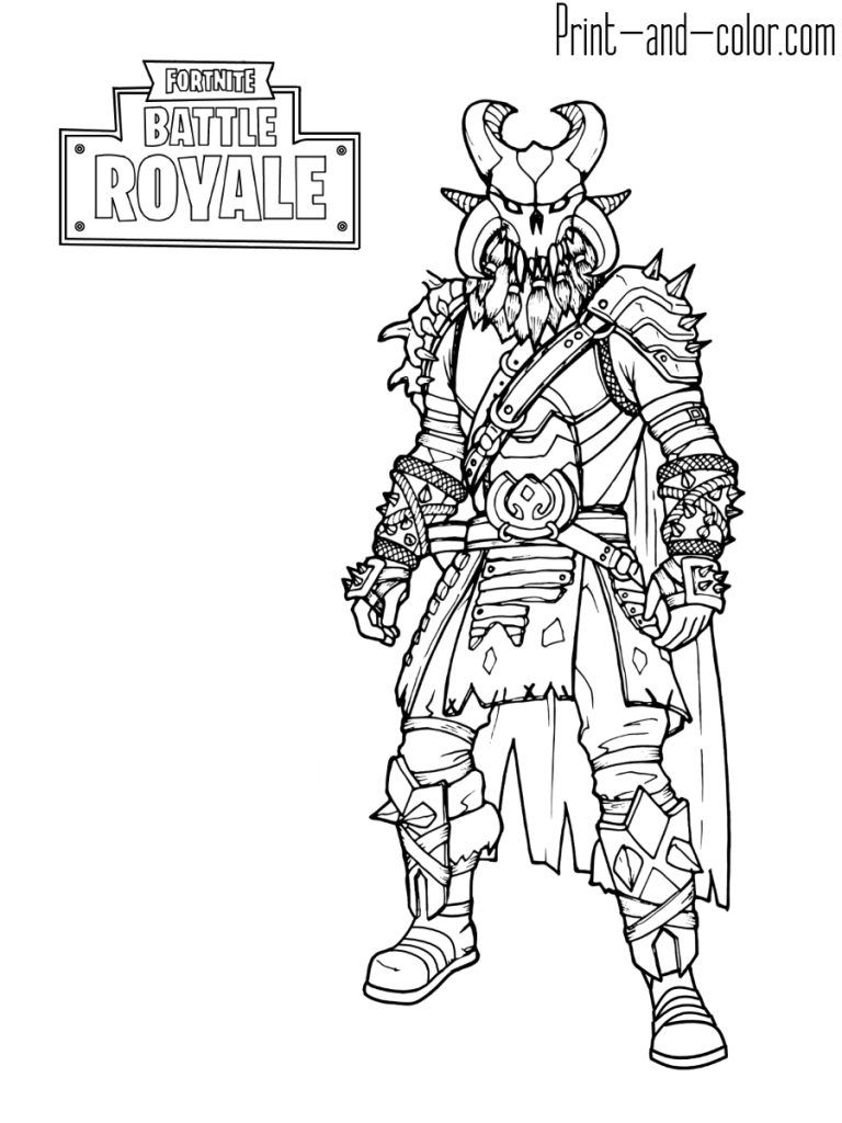Fortnite Coloring Pages   Print And Color For Fortnite