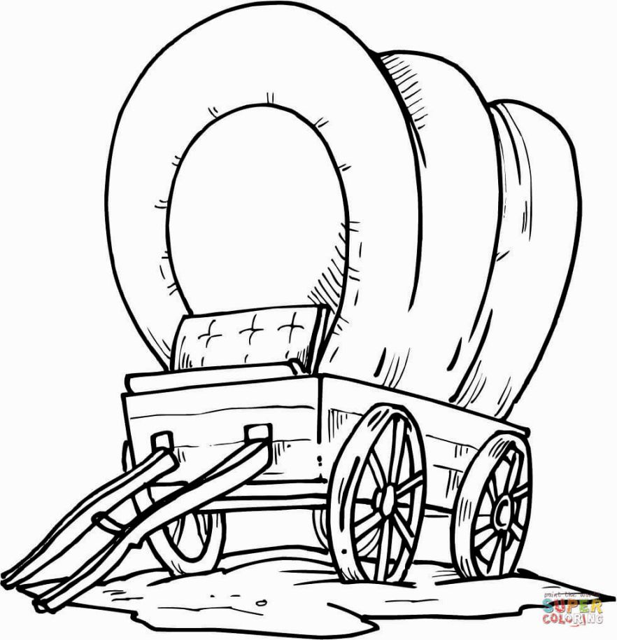 Wild West Coloring Pages | Coloring Pages | Pioneer