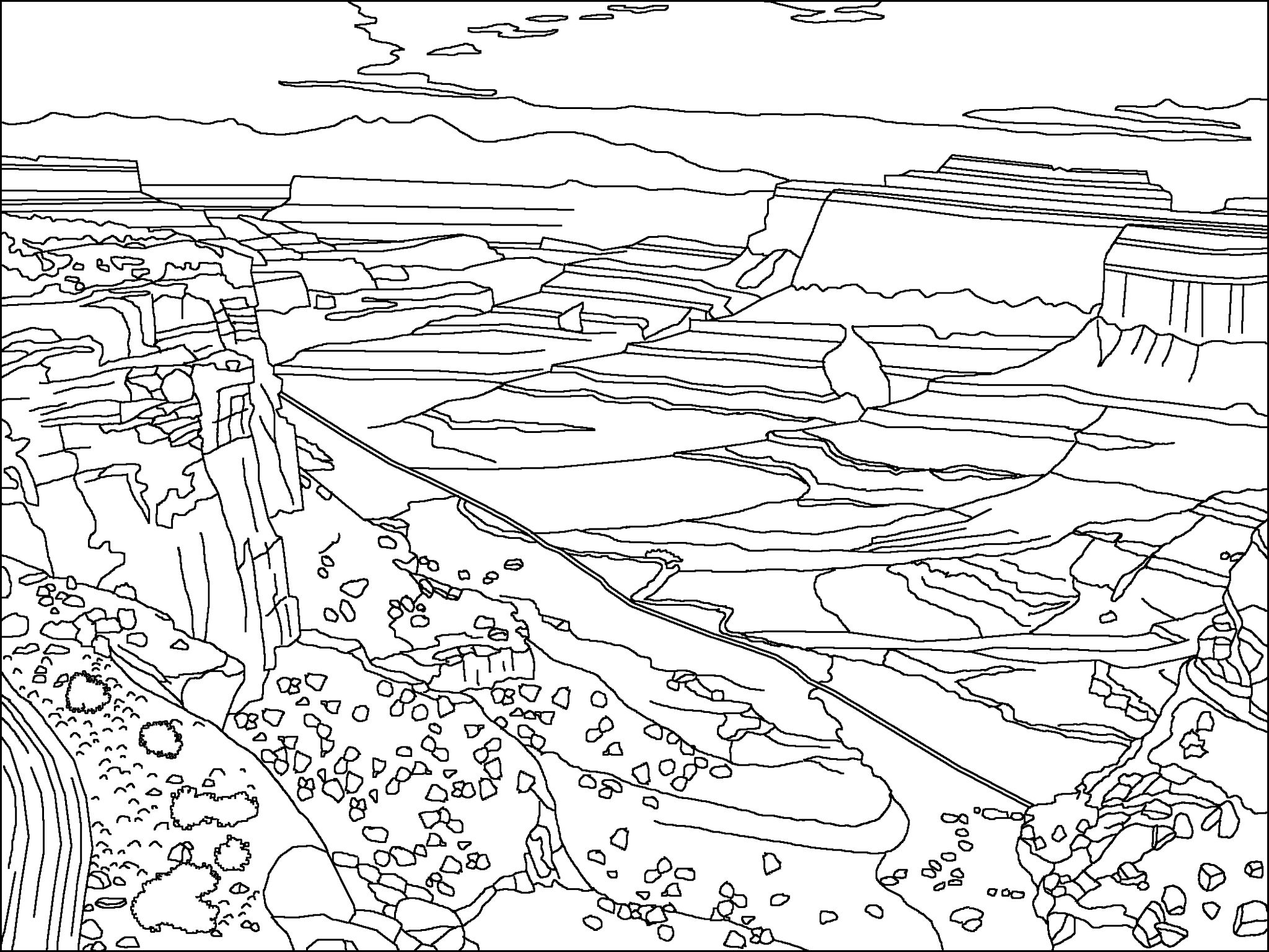 Nevada | Coloring Pages | Coloring Pages, Free Coloring