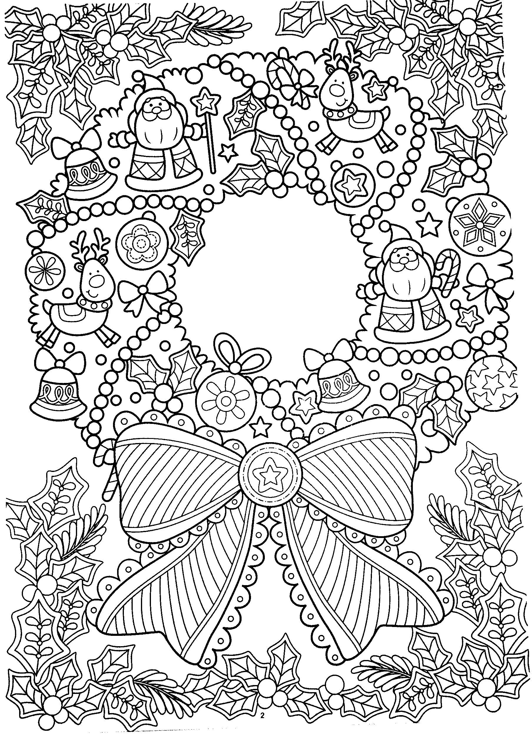 New Year Coloring Pages, Christmas Coloring Pages | Coloring
