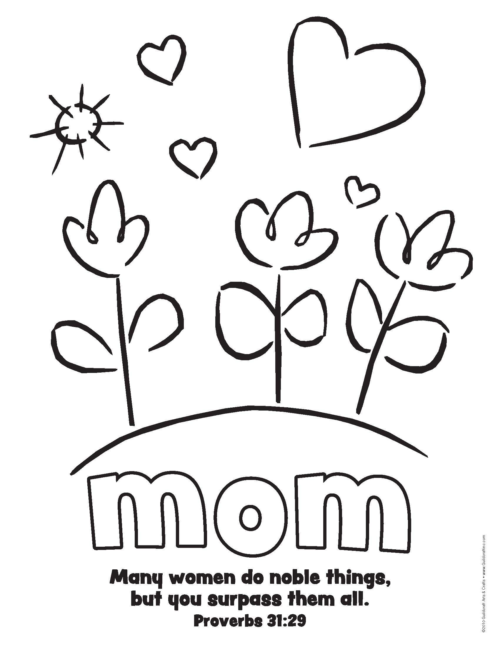 Pin By Miranda Goins On Vpk Class | Mothers Day Coloring