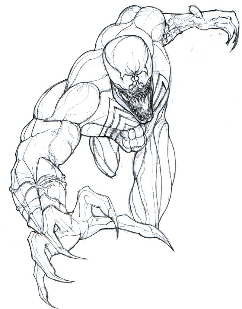 Venom Spider-man Coloring Pages | Sam | Coloring Pages