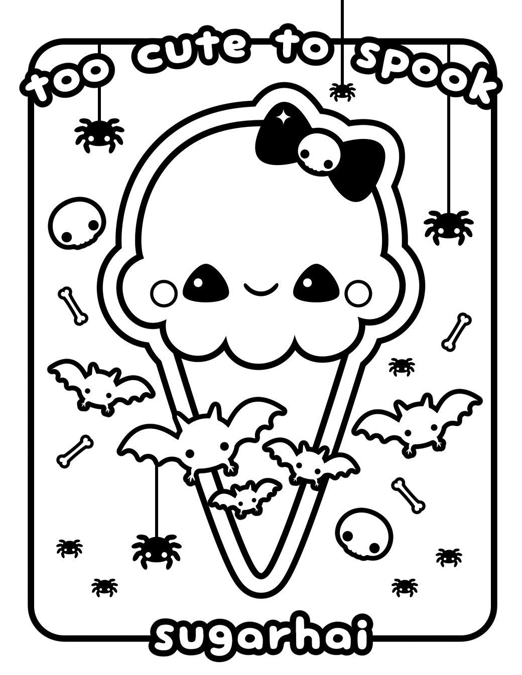 Printable Kawaii Coloring Pages Coloringsuite | Free