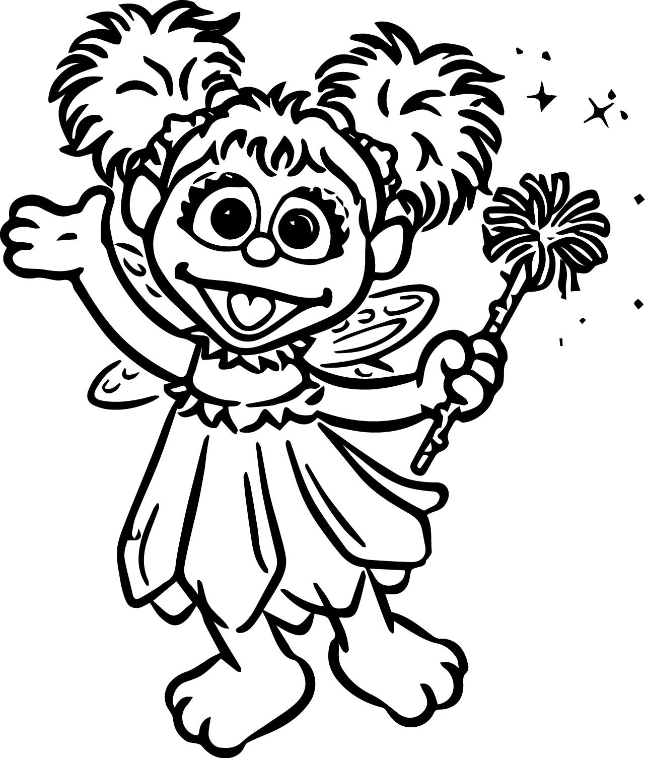Abby Cadabby Coloring Pages | Coloring Pages | Sesame Street