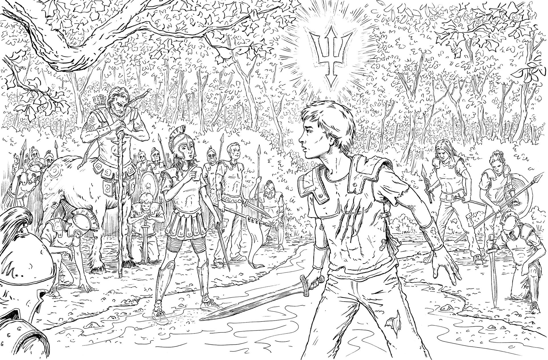 Image Result For The Magnus Chase Coloring Book | Coloring