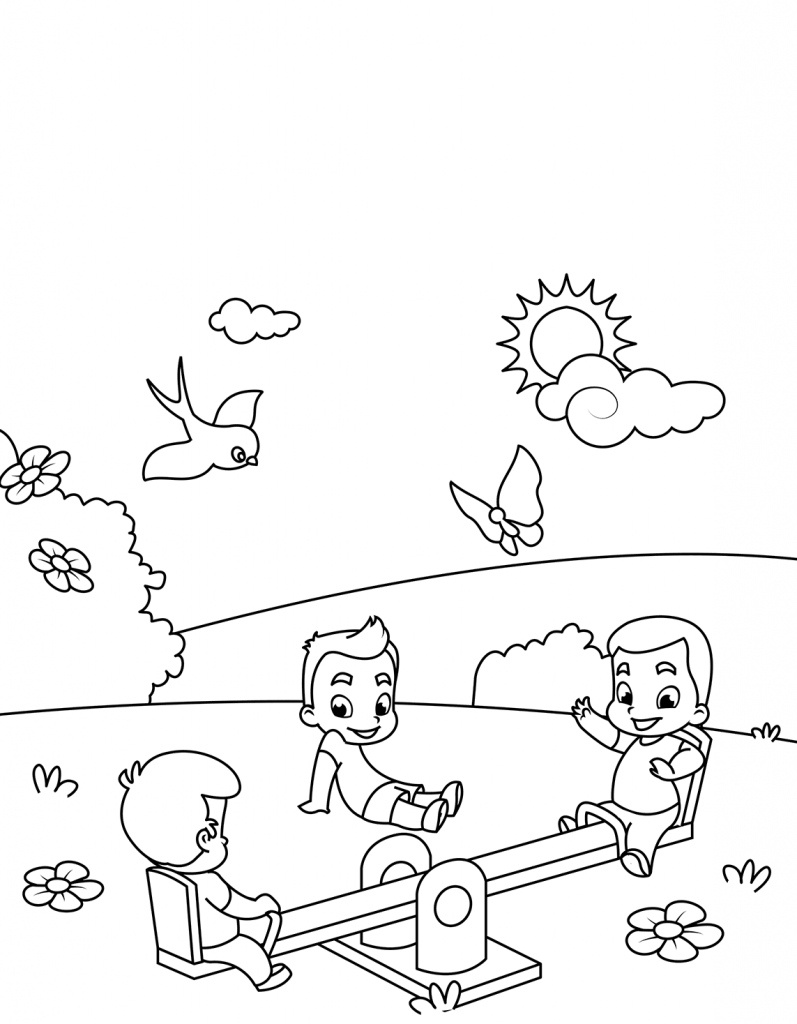March Coloring Pages | Seasons Coloring Pages | Bunny
