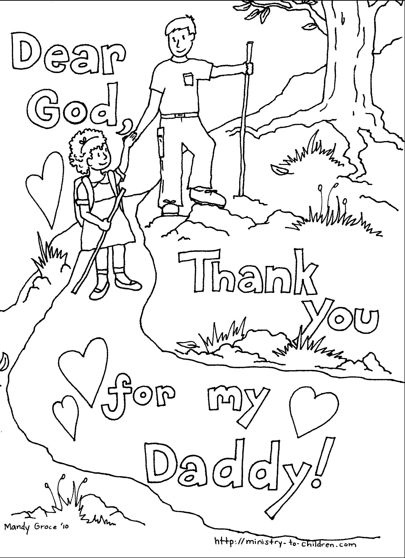 Fathers Day Coloring Pages To Print - Free Large Images