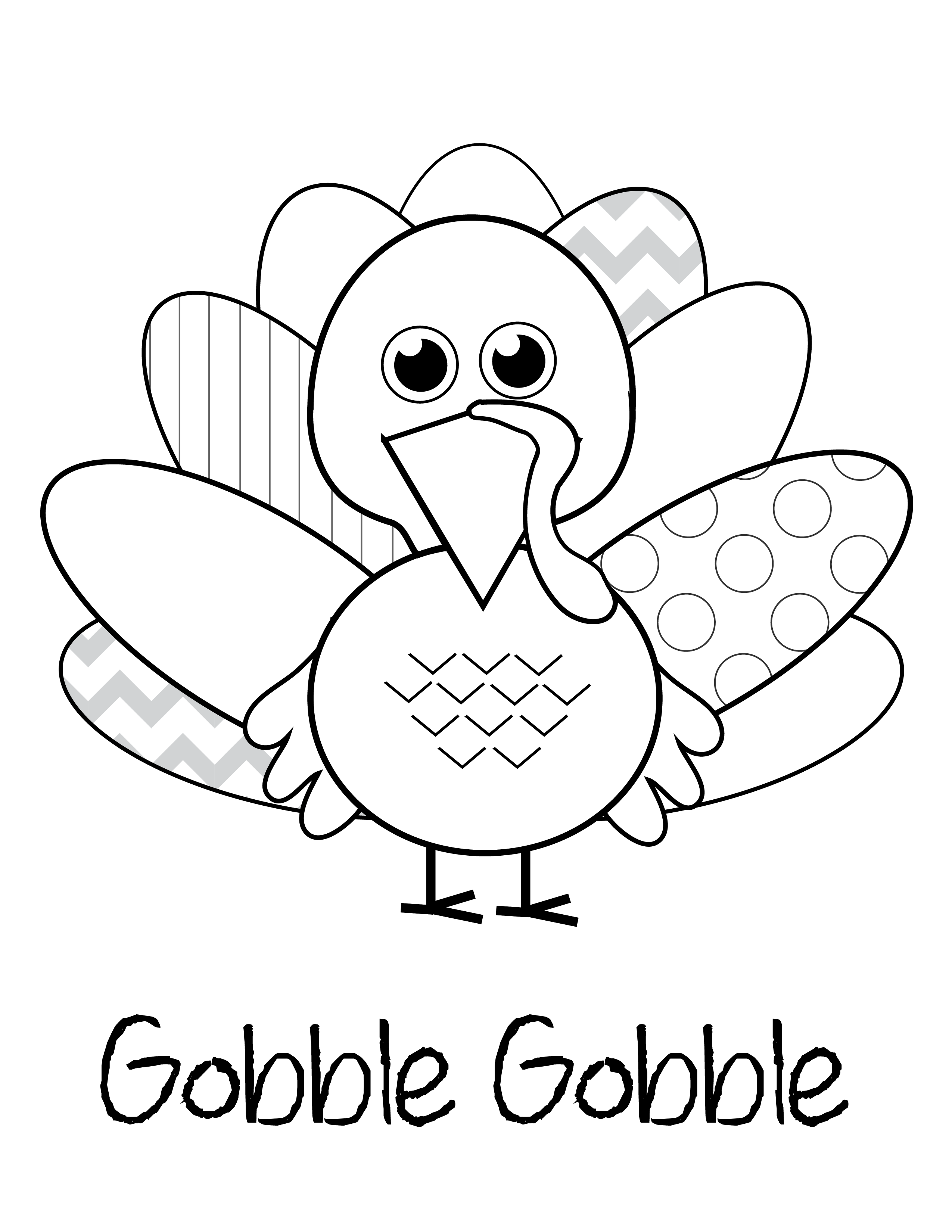 Free Thanksgiving Printables | Thanksgiving Coloring Pages
