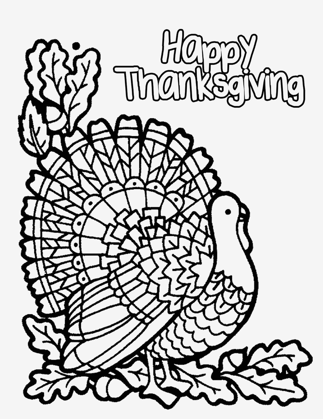 22+ Marvelous Picture Of Turkey Coloring Pages | Adult