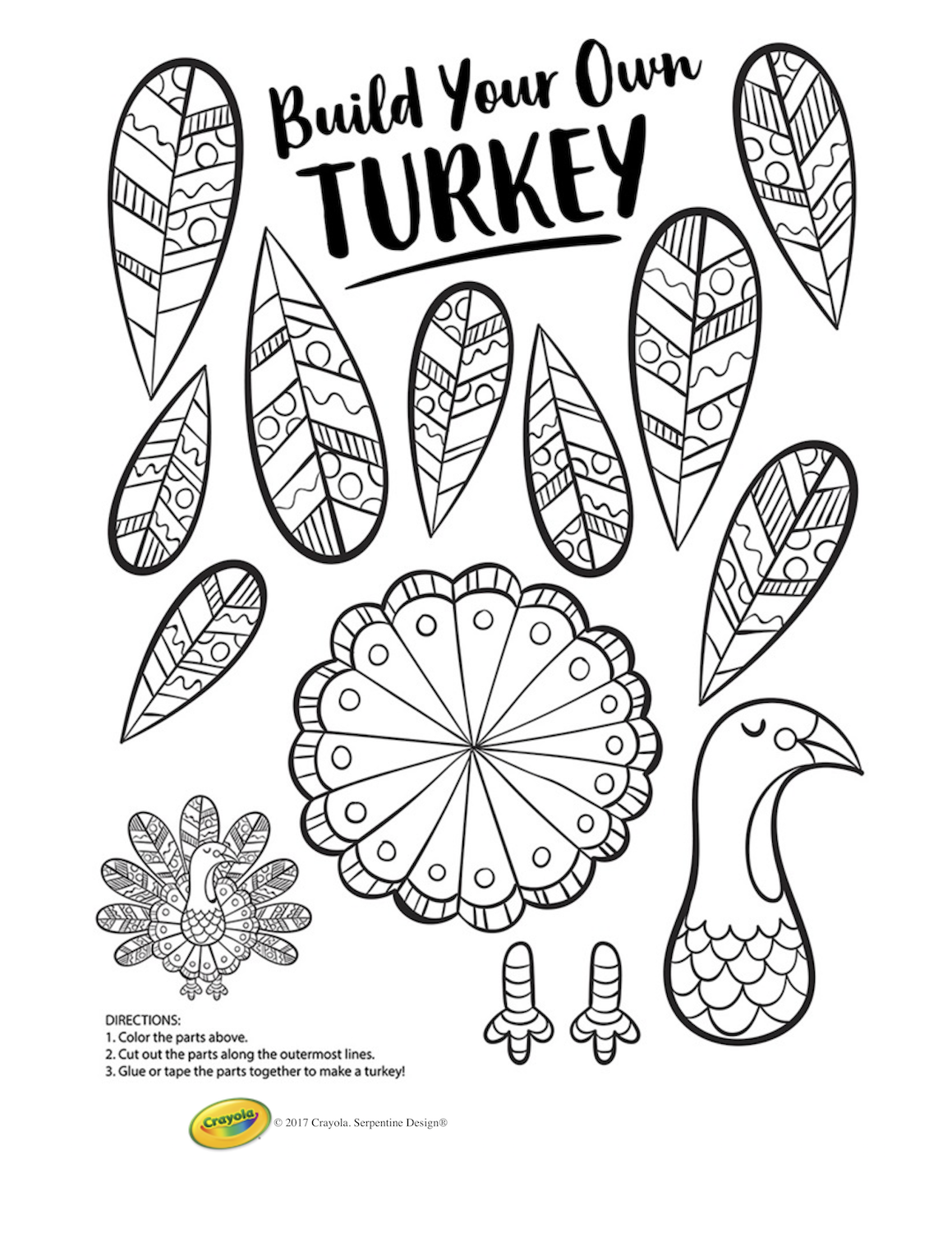 Thanksgiving Coloring Pages   Thanksgiving Kids Printables