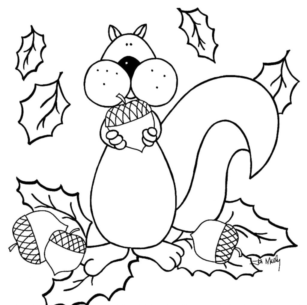 Free Printable Fall Coloring Pages For Kids | Tk Art