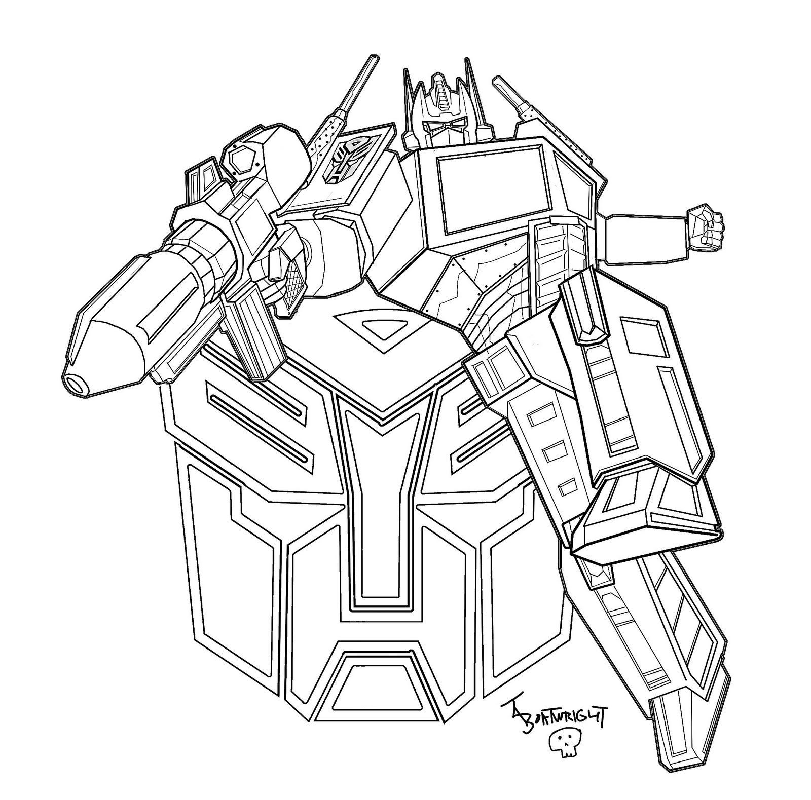 Transformers Printable Coloring Pages   61 Transformers