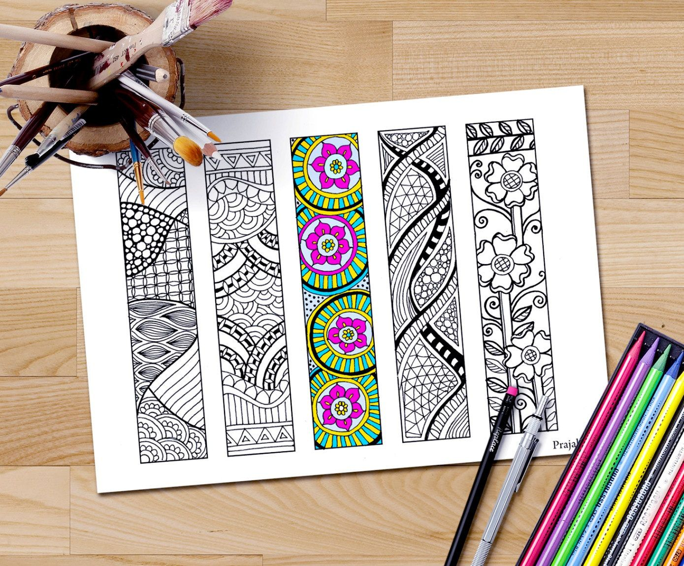 Bookmark, Printable Coloring Pages, Coloring Pages, Coloring