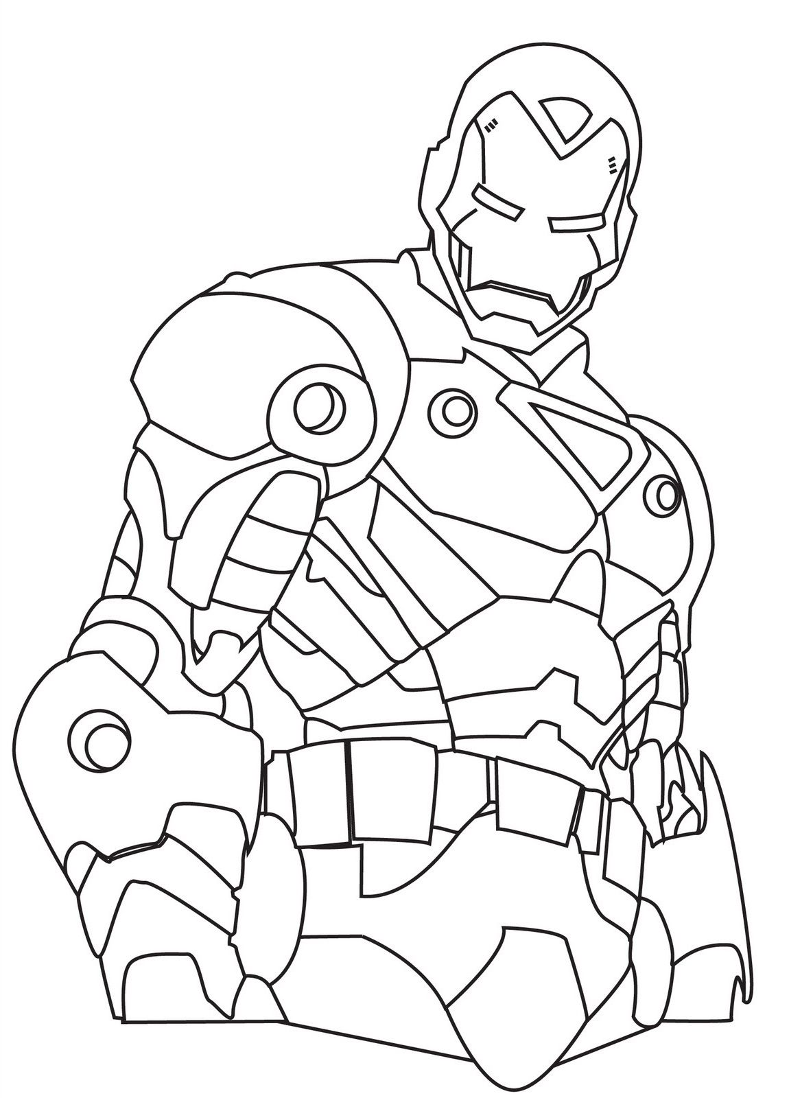 Iron Man Coloring Pages For Boys | Educative Printable | Fun
