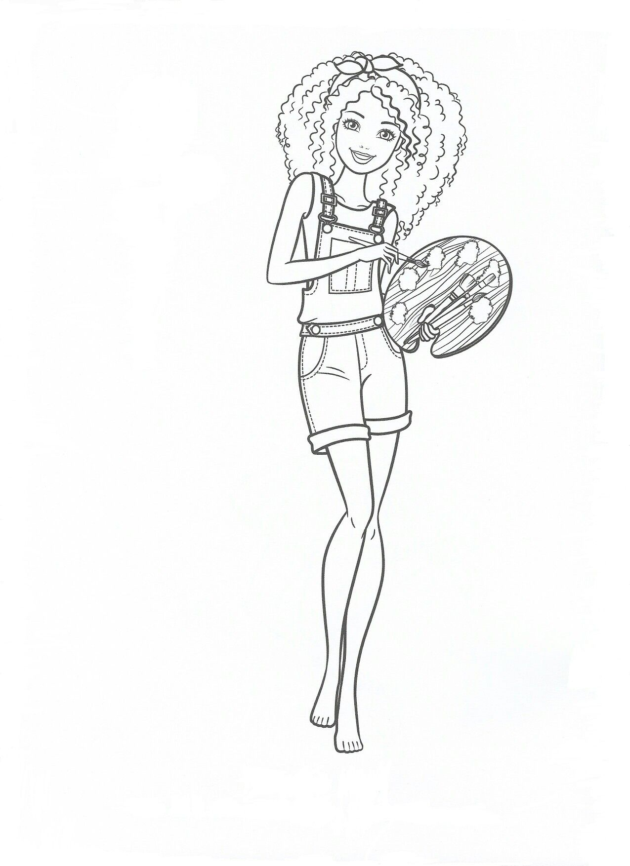 Pin By Terri Breeden On Coloring | Barbie Coloring Pages