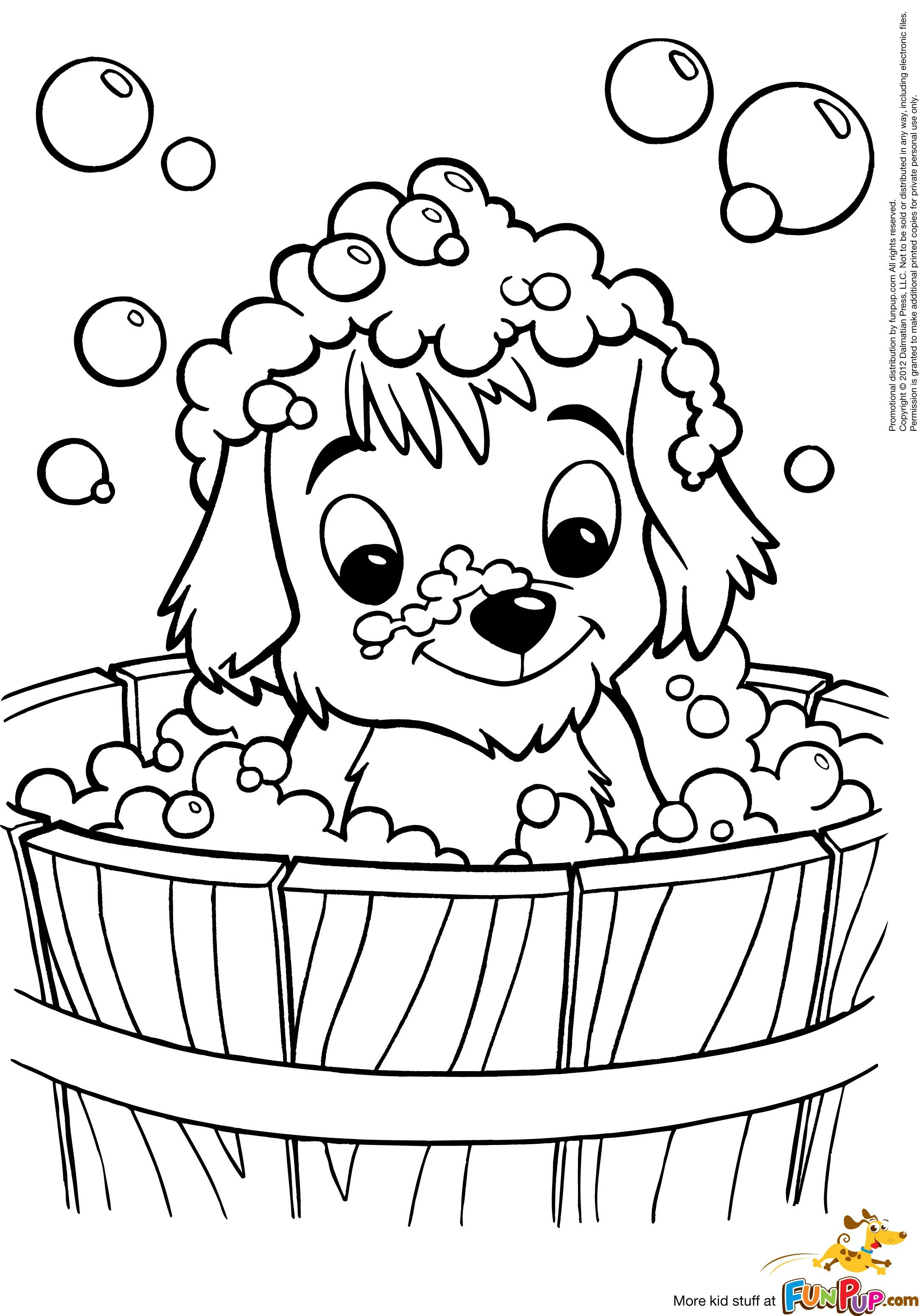Cute Puppy Coloring Pages New Page   Kaleidoscope   Puppy