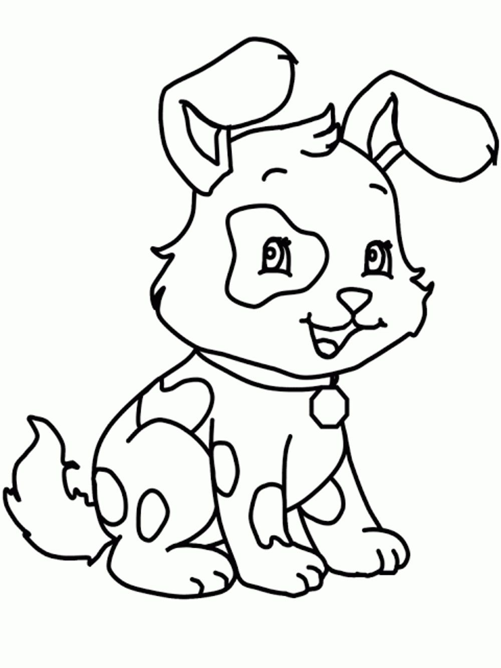 Biscuit The Dog Coloring Pages - Printable Kids Colouring