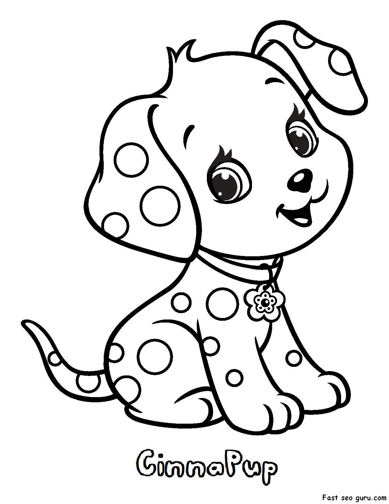 Love Strawberry Shortcake Pets Coloring Pages | Kwilt