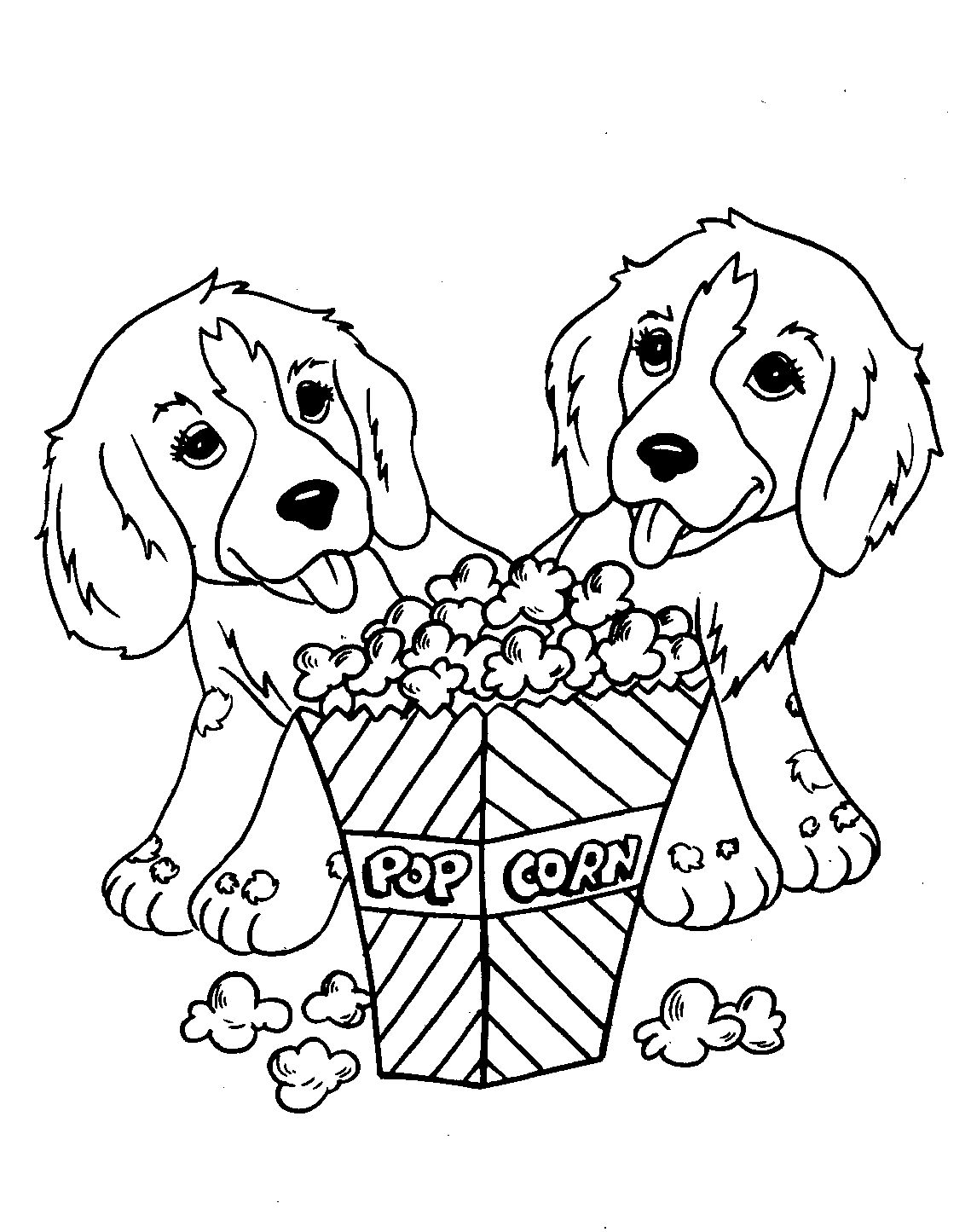 Coloring Pages Of Dogs And Puppies Free Coloring Pages Of