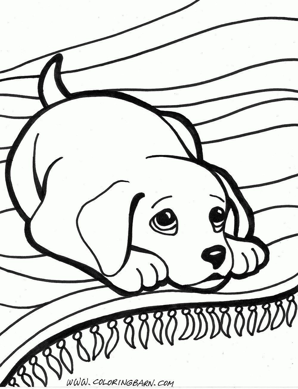 Puppy Coloring Pages Puppy Coloring Pages Dog Coloring Pages
