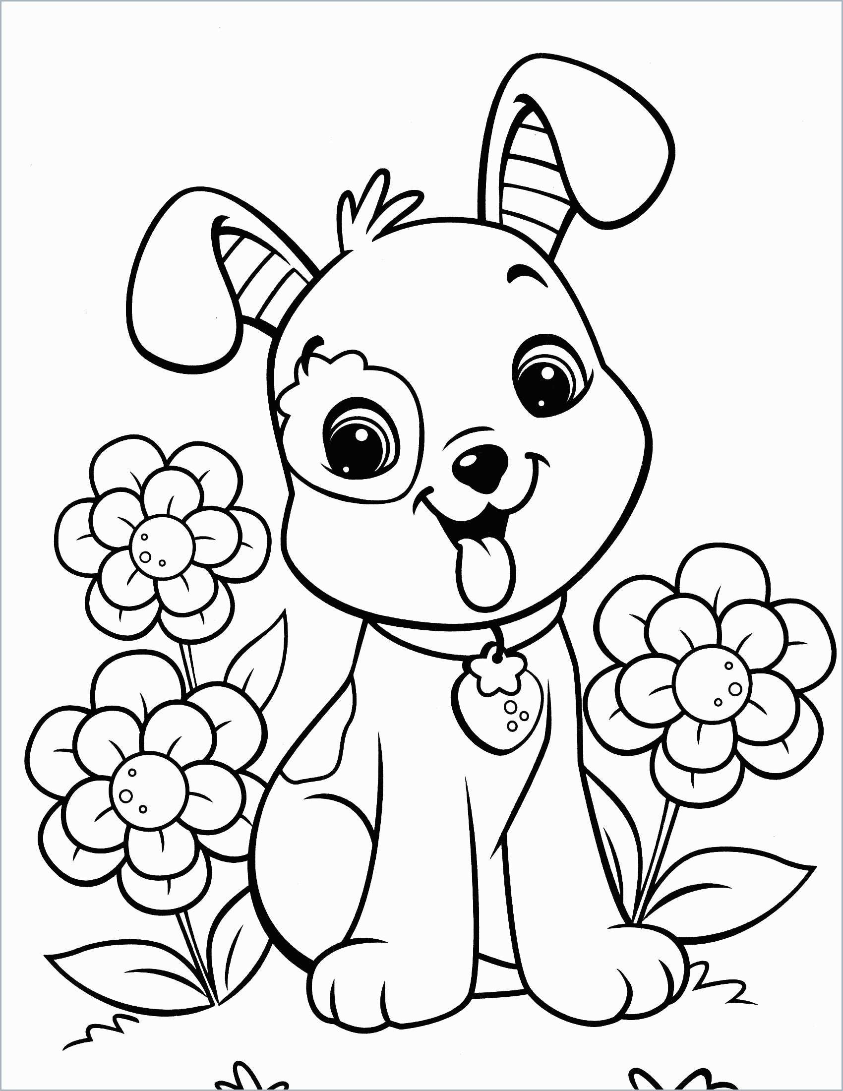 Printable Puppy Coloring Pages Ideas | Animal Coloring Pages