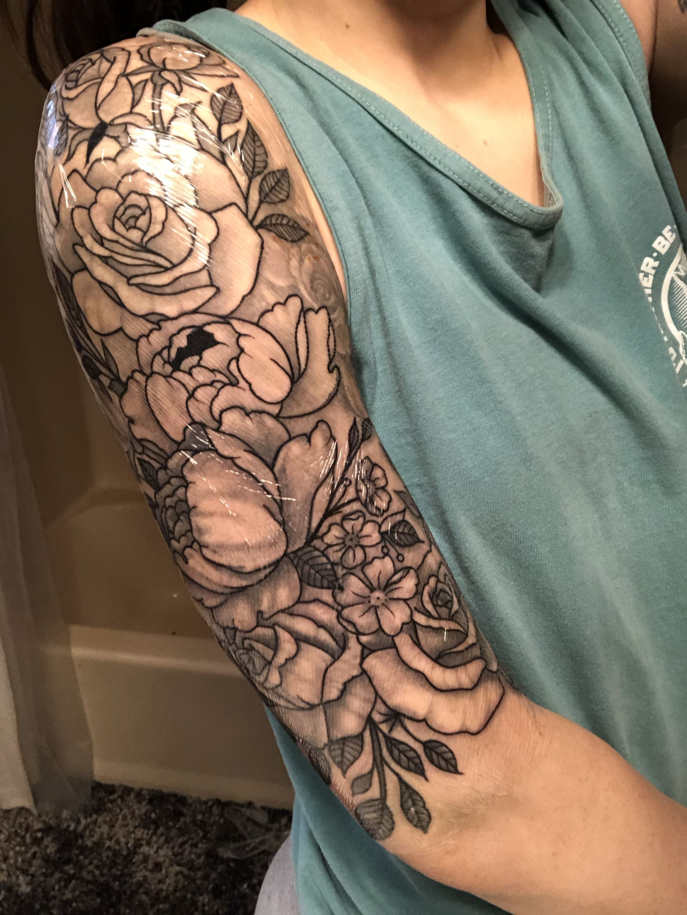 Love The Size And Coloring | Tattoos | Tattoos, Sleeve