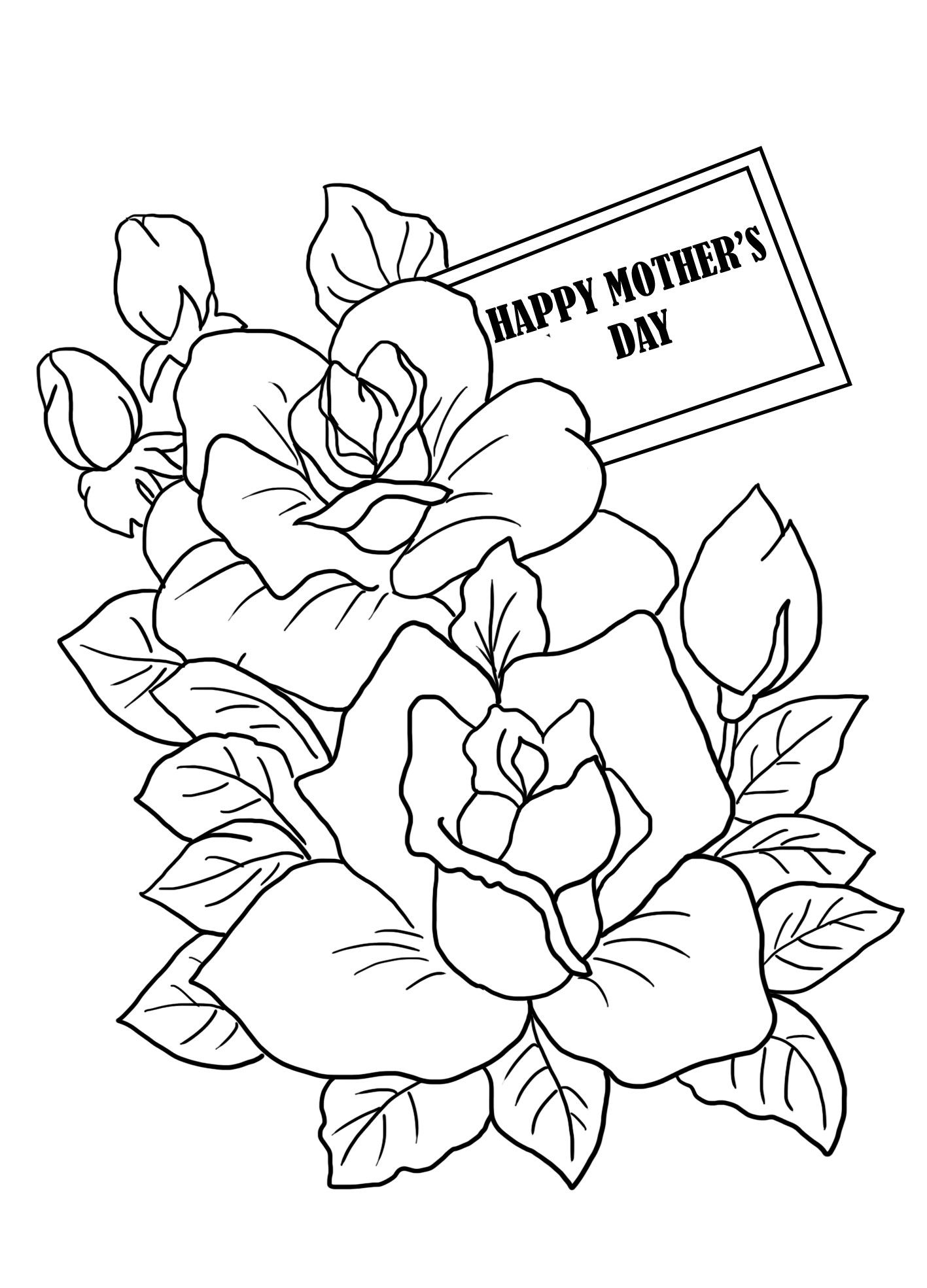 New Mothers Day Colouring #coloring #coloringpages