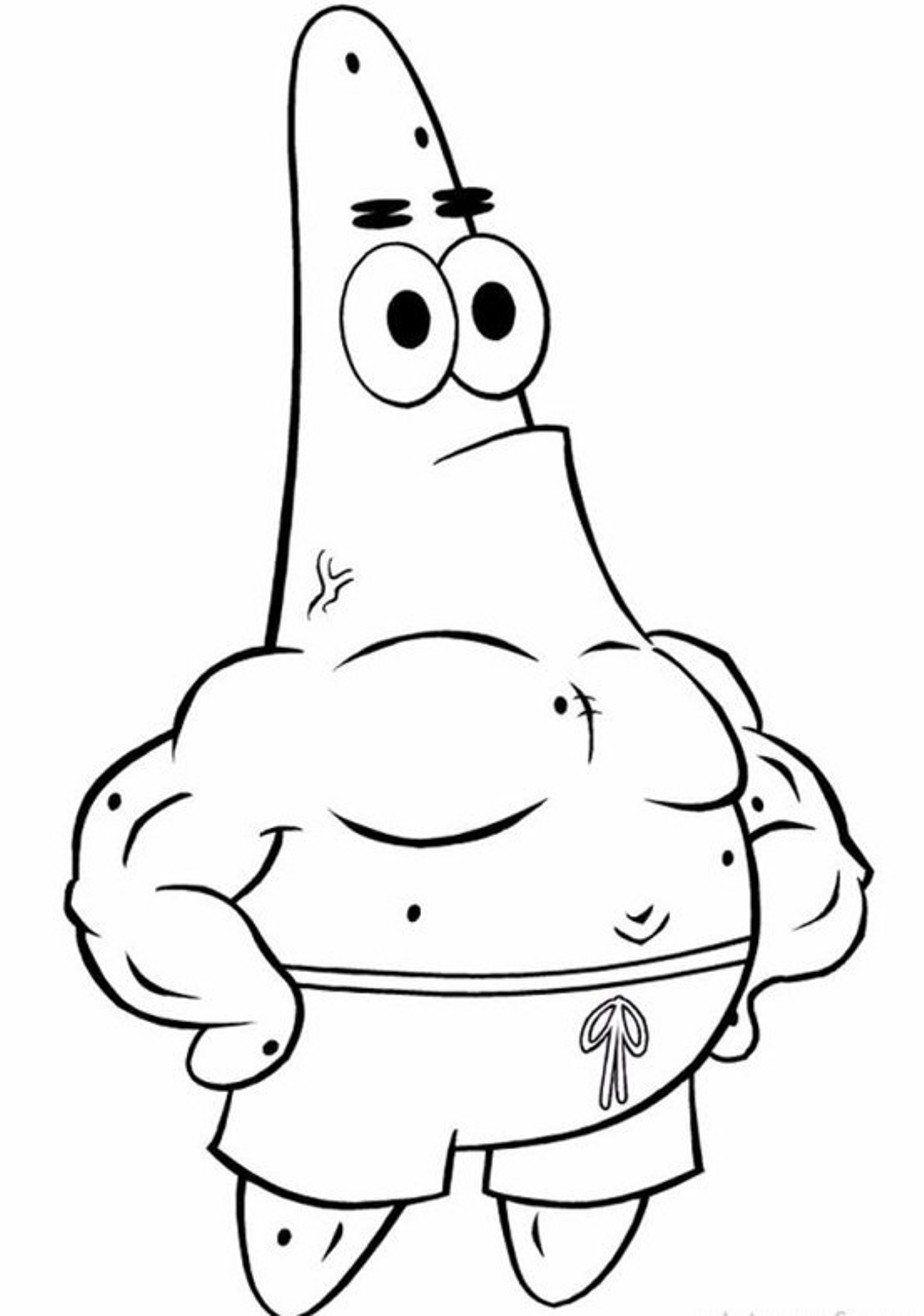 Cartoon Coloring, Coloring Pages Spongebob Patrick Star
