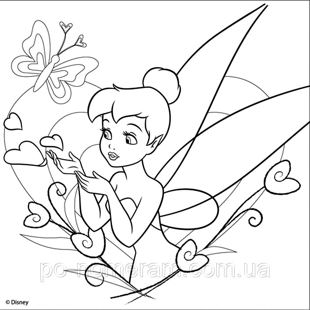Pin By Paula Shay On Coloring Books   Tinkerbell Coloring