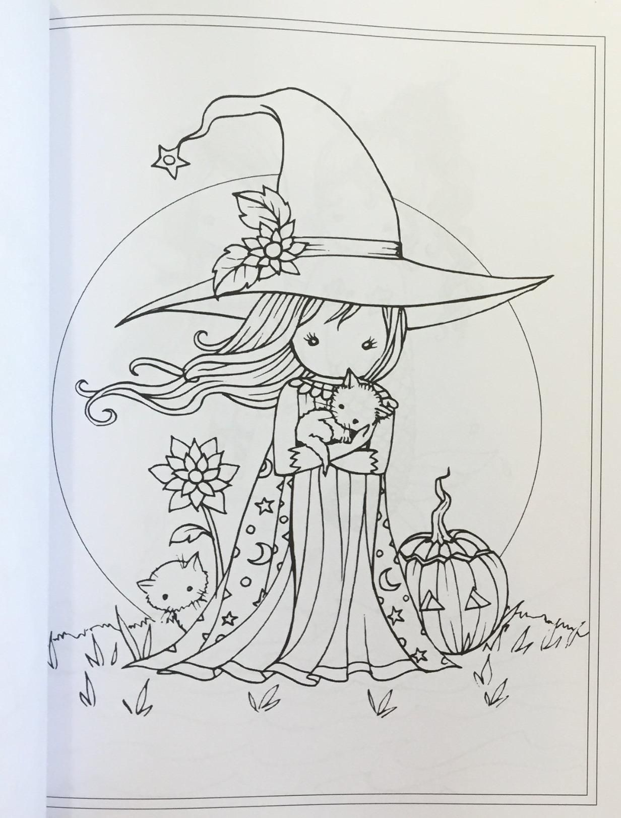 Whimsical World #2 Coloring Book: Fairies, Mermaids, Witches