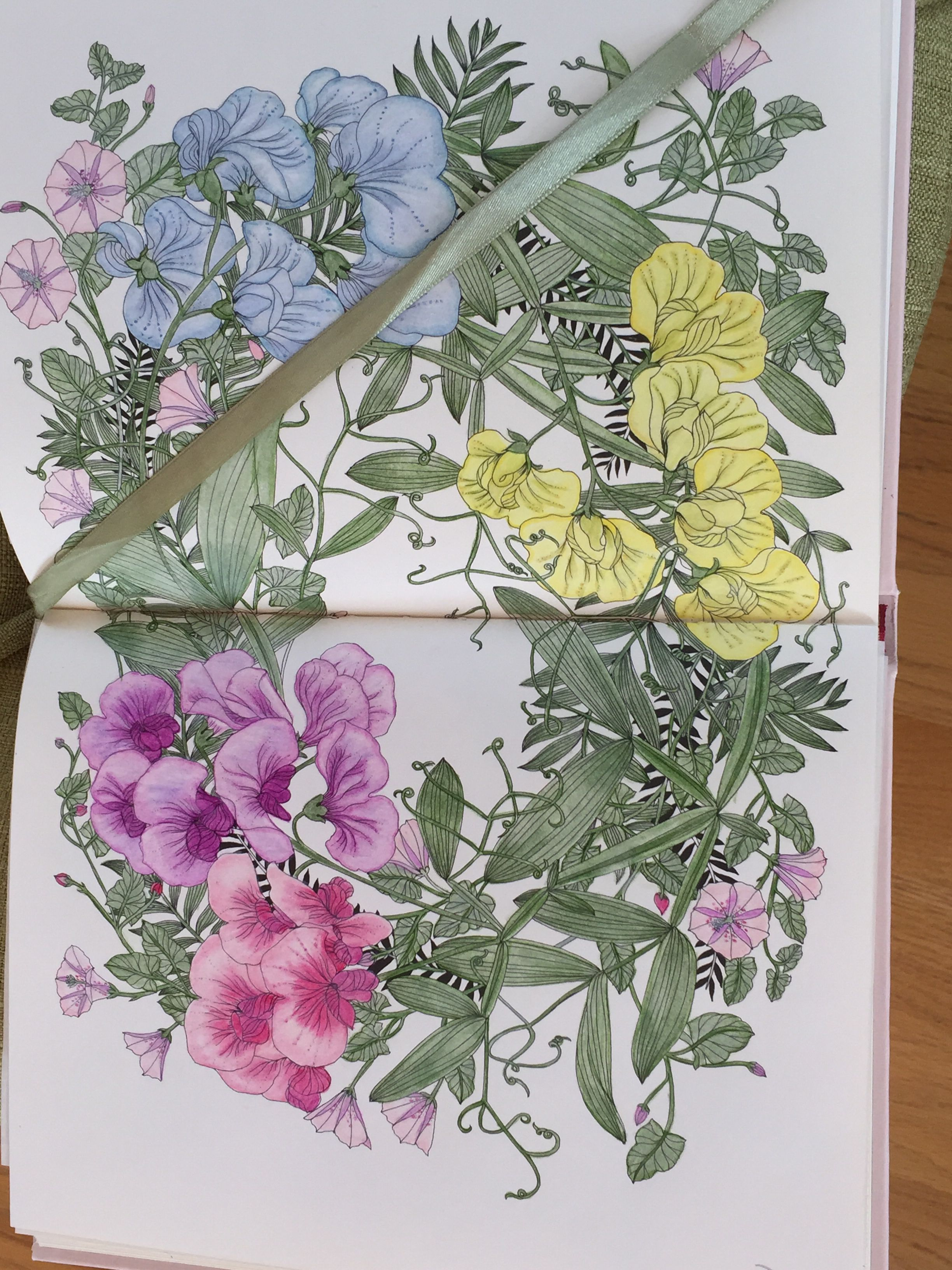 I've Really Enjoyed Coloring In This Beautiful Book!! Hoping