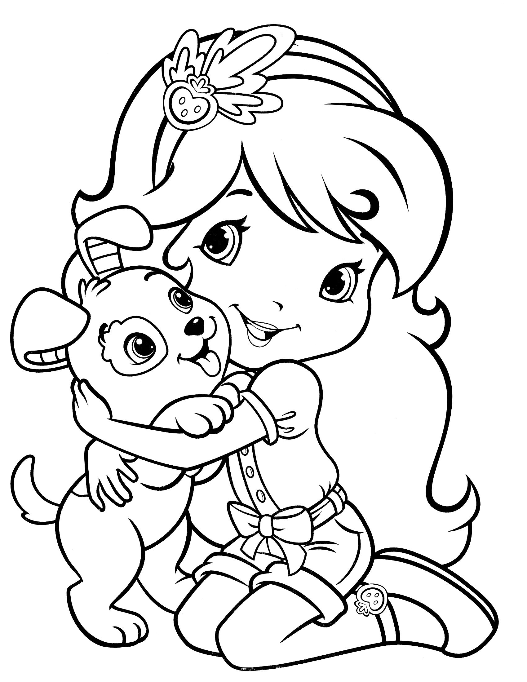 Strawberry Shortcake Coloring Pages Games Coloring Pages 2