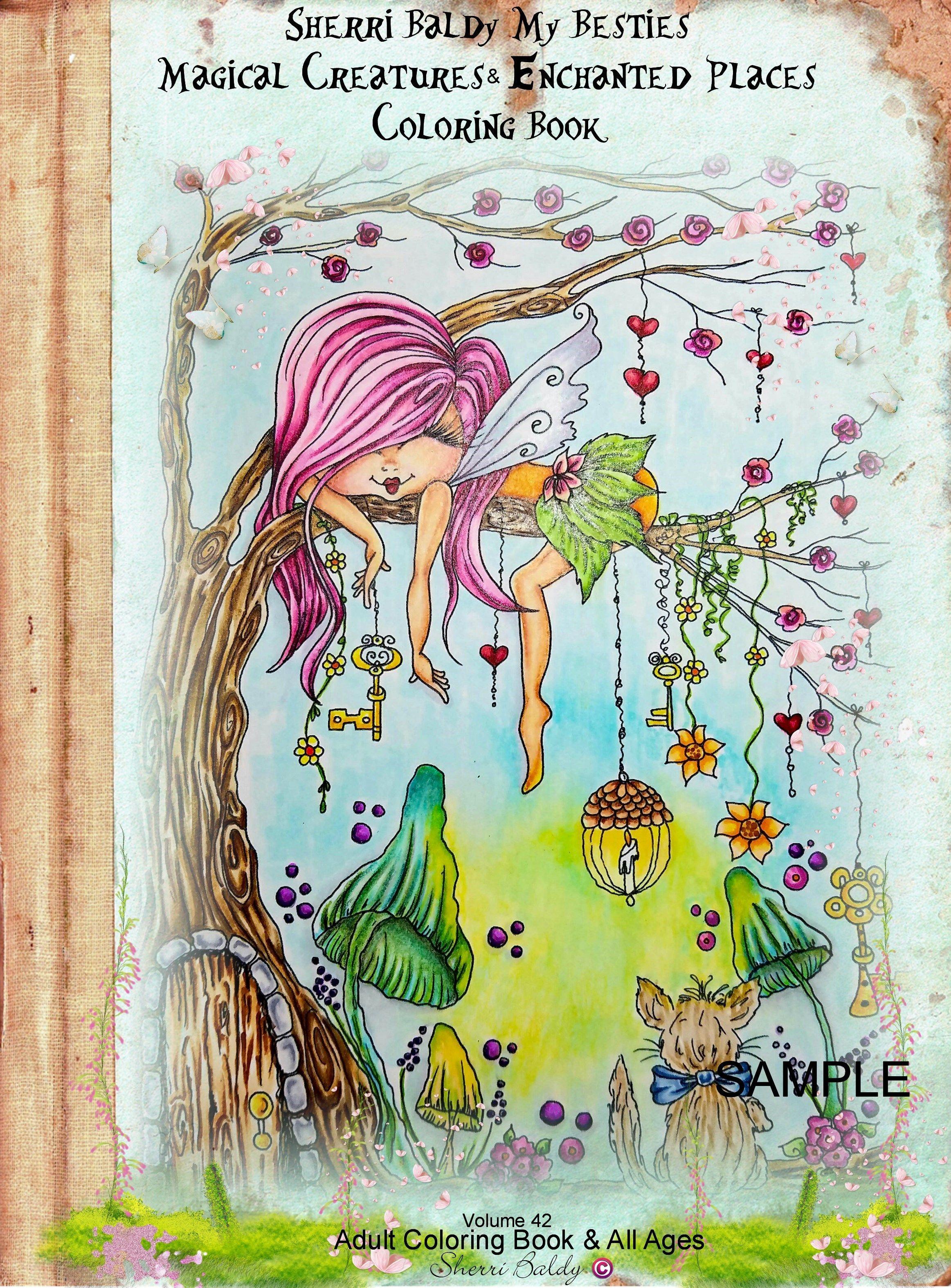 Resultado De Imagen De Sherri Baldy Coloring   Illustration