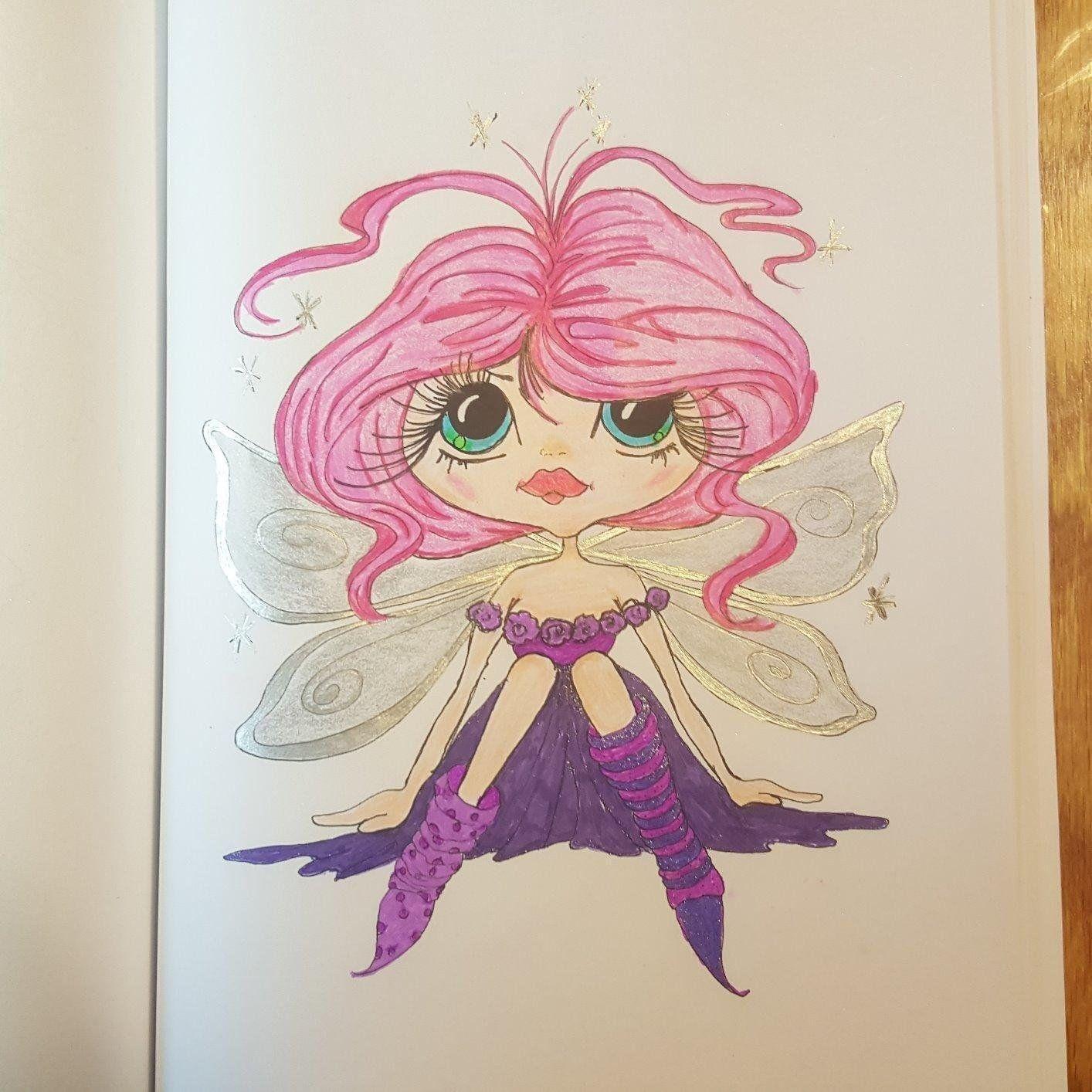 Sherri Baldy My-besties Fairy Time Coloring Book: Sherri Ann