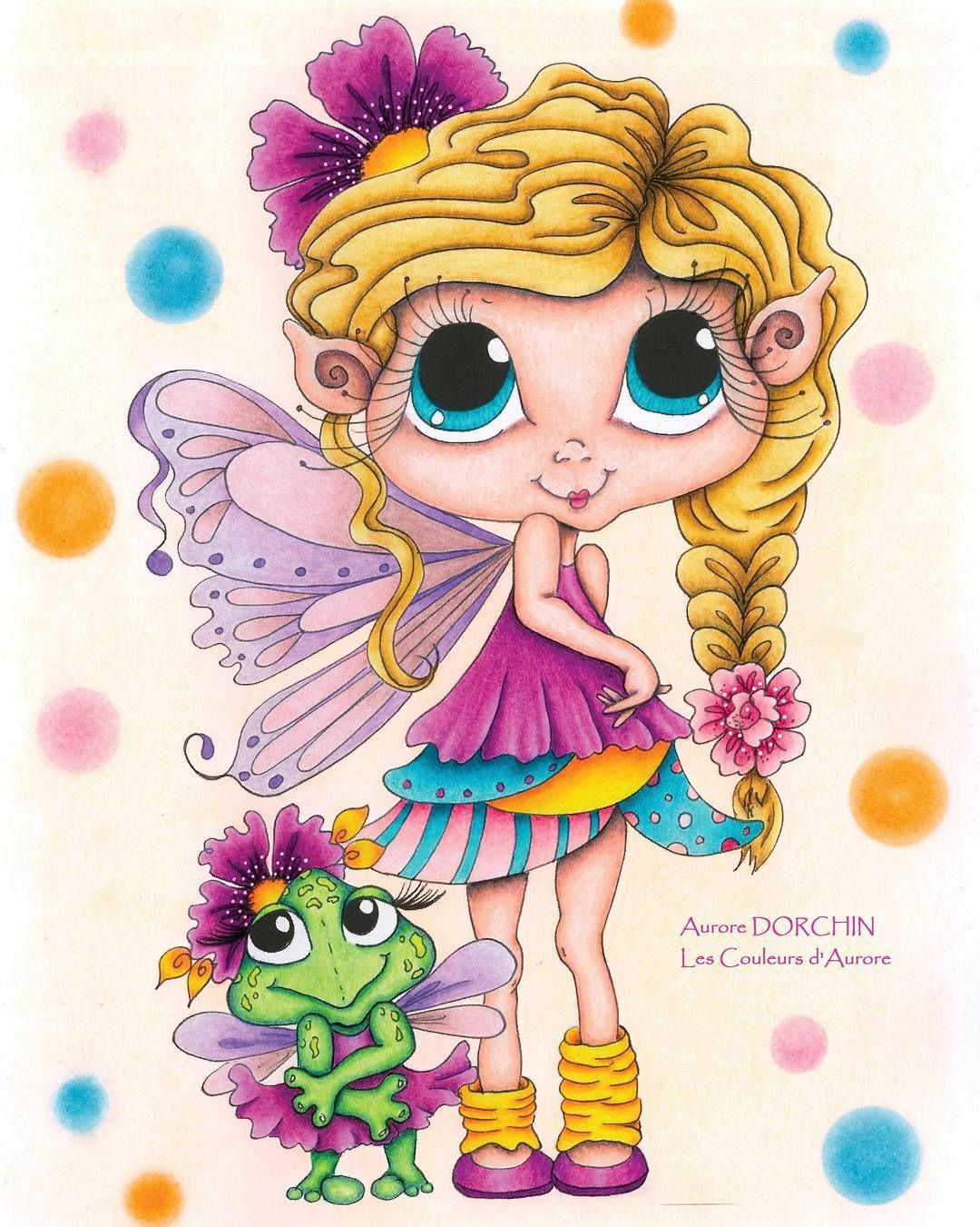 Livre : Fairy Time Coloring Book By Sherri Baldy My Besties