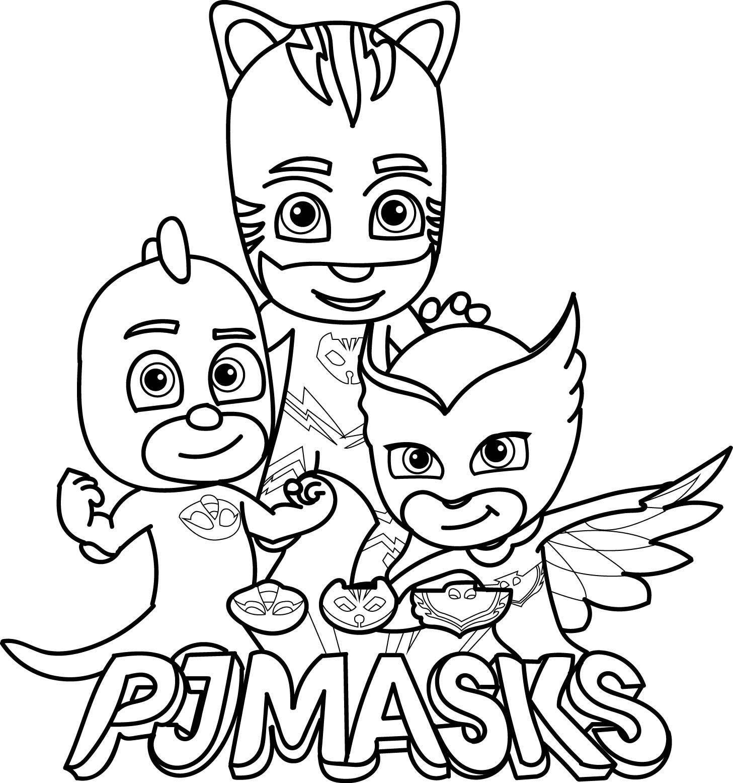 Pj Masks Coloring Pages, Pj Masks Printable, Coloring Pages