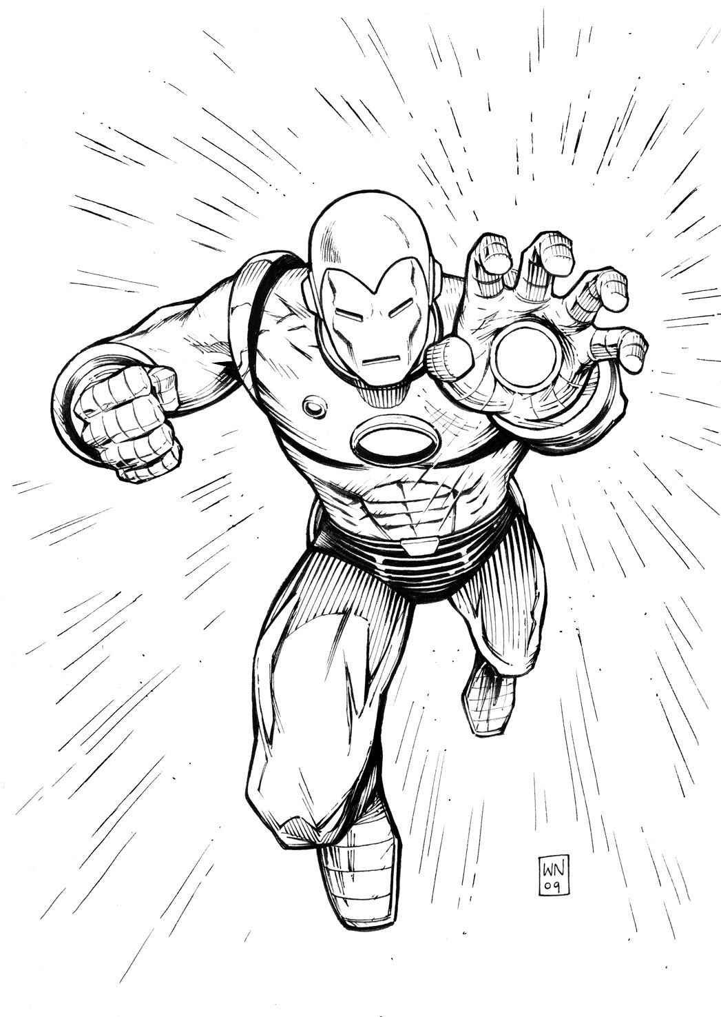Free Printable Iron Man Coloring Pages For Kids   Home Sweet