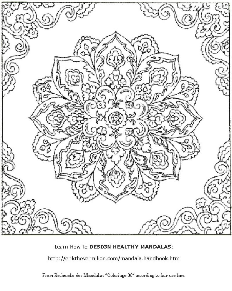 Free Mandala Coloring Book Printable Pages | Coloring For