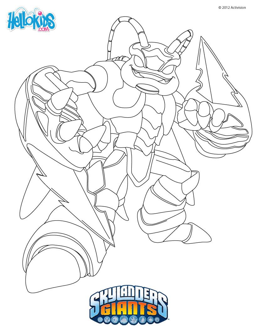 Tons Of Skylanders Coloring Pages & Much Moreperfect