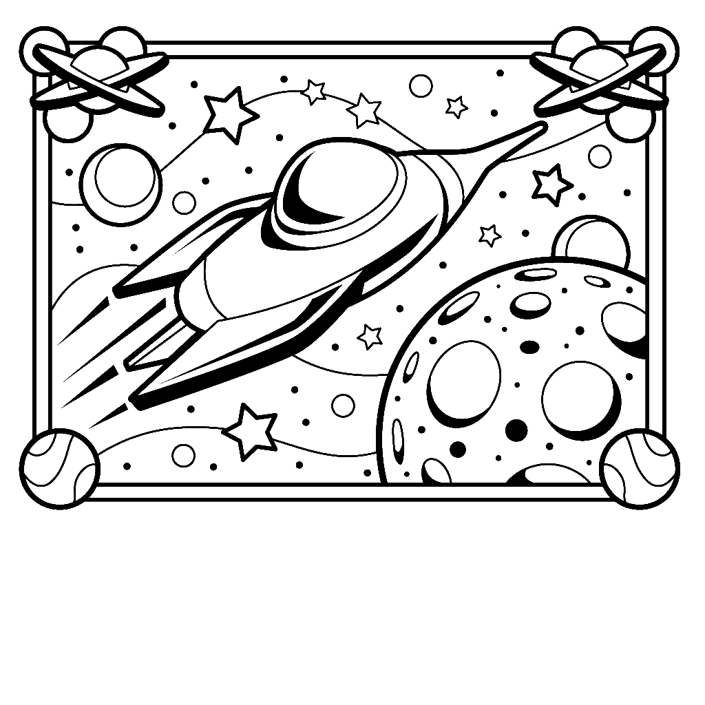 Printable Solar System Coloring Sheets For Kids!   Space