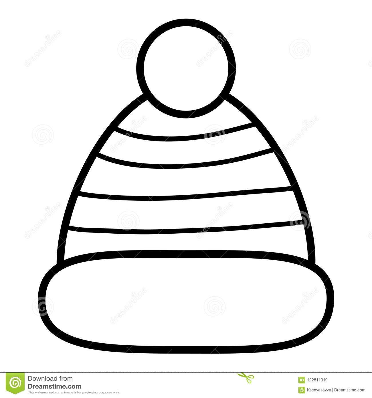 Coloring Book Hat | Coloring Pages | Coloring Books, Books