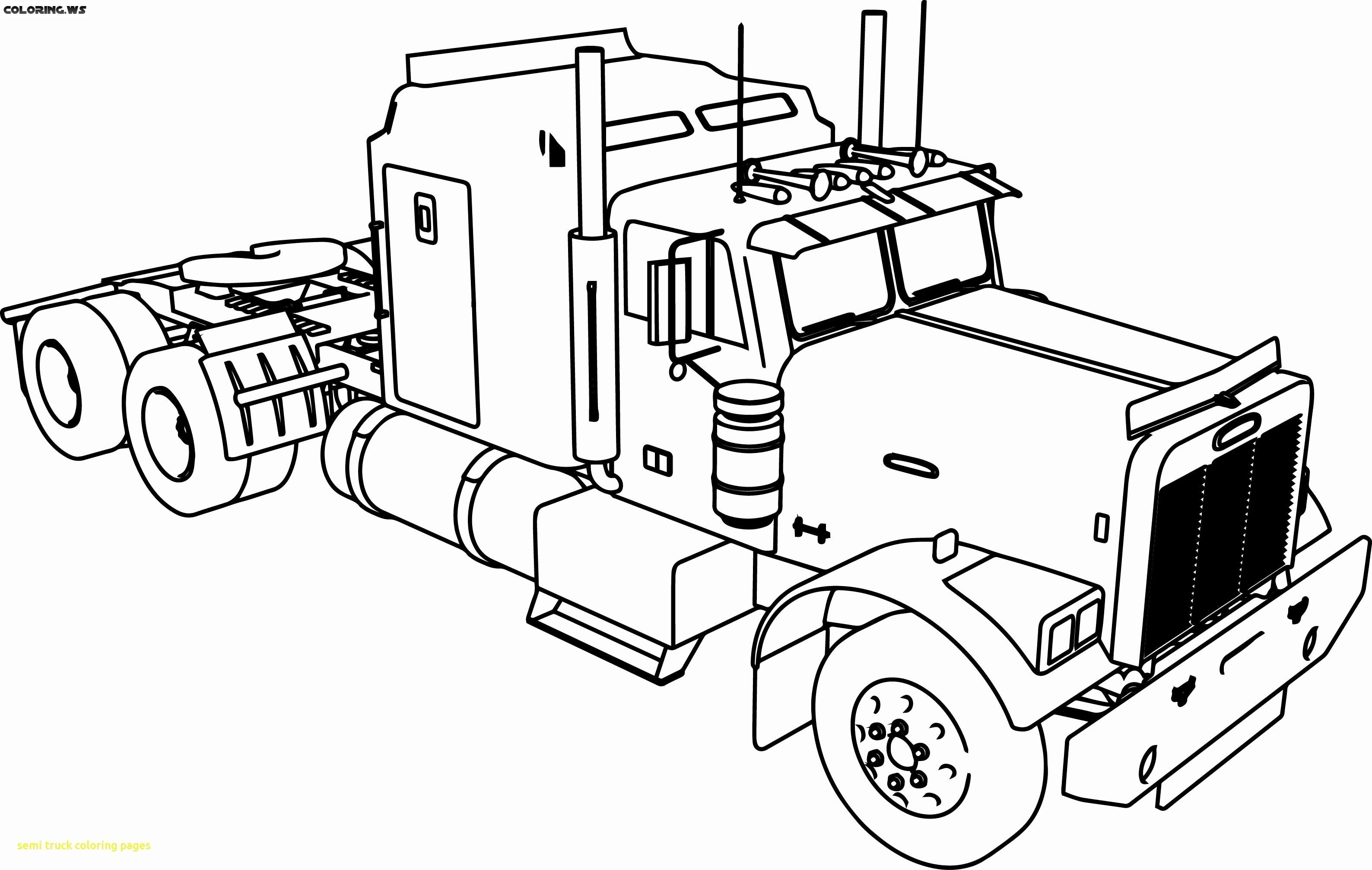 Free Truck Coloring Pages For Adults | Truck Coloring Pages