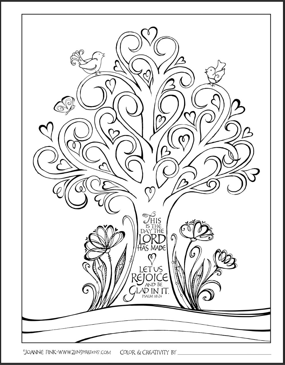 Color Peace | Coloring Pages | Bible Coloring Pages